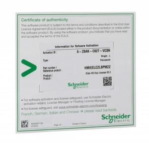 EcoStruxure Operator Terminal Expert Basic, лицензия для HMISTO7xx